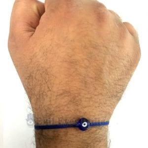 Authentic Blue Bead Bracelet for Men
