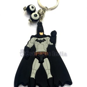 Batman with Evil Eyes Keychain