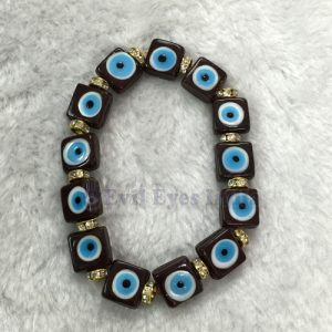 Evil Eye Bracelet – Brown