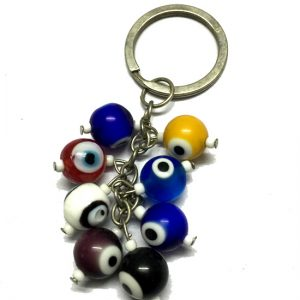 Evil Eyes Bunch Keychain