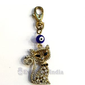 Lucky Charm Cat Evil Eye Hanging