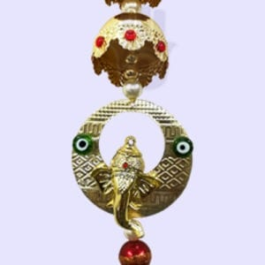 God Ganesha with Evil Eye Hangings