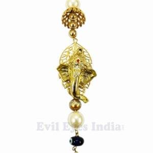 God Ganesha with Evil Eyes