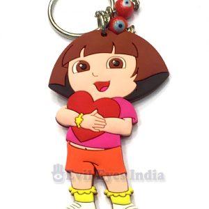 Dora-Heart-Keychain