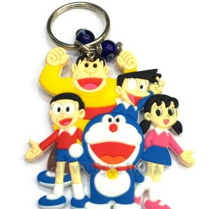 Doremon and Friends Evil Eyes Keychain