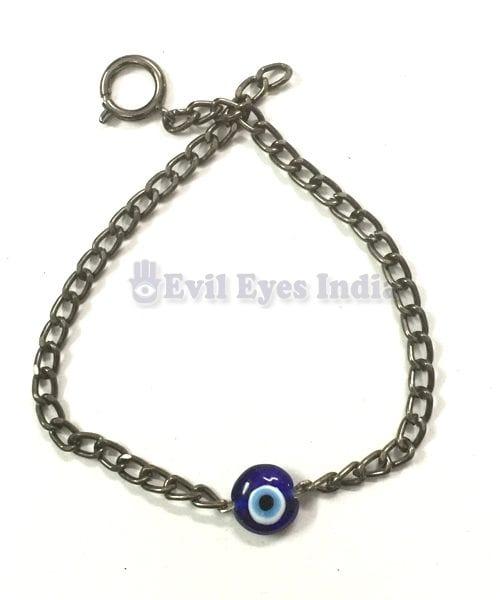Masculine Evil Eye Bracelet