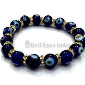 Evil Eye Bracelet with Zircons