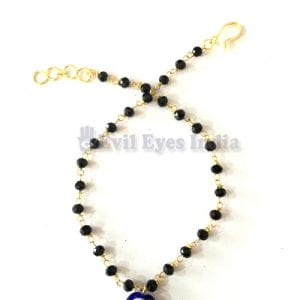 Evil Eye Anklet Authentic Blue Bead