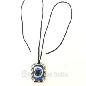Octagon Shaped Evil Eye Pendant