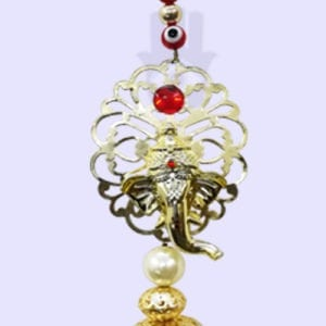 God Ganesh ji with Evil Eye Hangings
