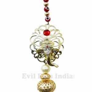 God Ganesh ji with Evil Eye Hangings
