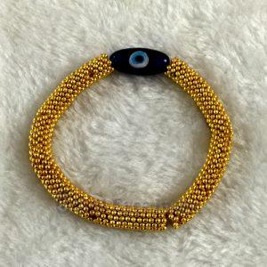 Golden Evil Eye Bracelet