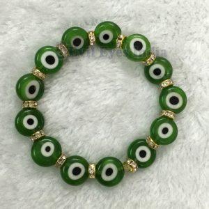 Green Evil Eye Bracelet