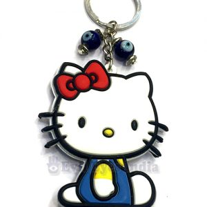 Hello Kitty Evil Eye Keychain