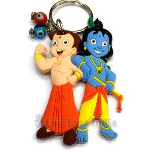 Krishna & Chota Bheem Evil Eye Keychain