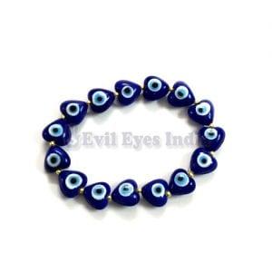 Cute Little Hearts Evil Eye Bracelet