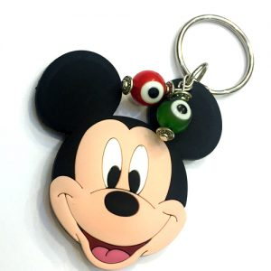 Mickey Mouse with Evil Eyes Keychain for Kids