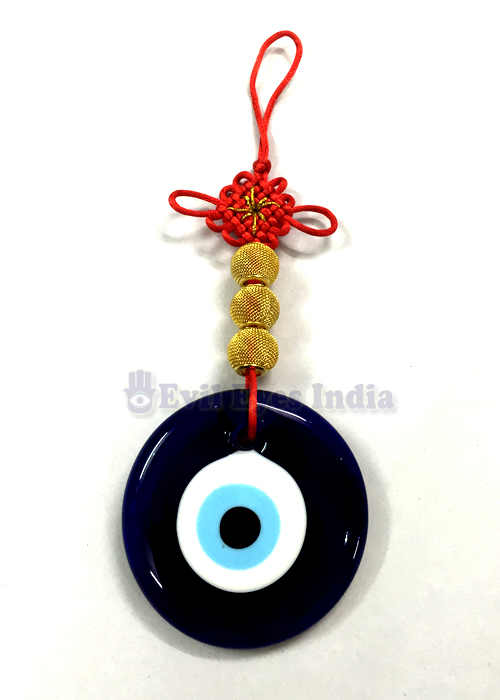 Evil Eye Hanging With Mystic Knot Big Evil Eyes India