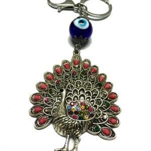 Peacock-Keychain-1