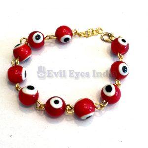 Premium Evil Eye Bracelet Red
