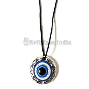 Round Evil Eye Pendant