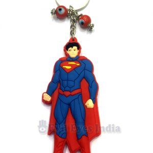 Superman Evil Eye Keychain