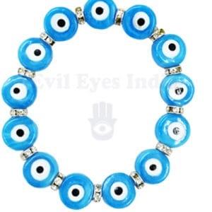 Turquoise Evil Eyes Bracelet