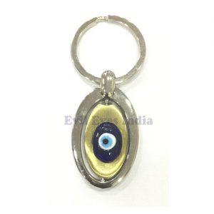 Handy Evil Eye SS Keychain