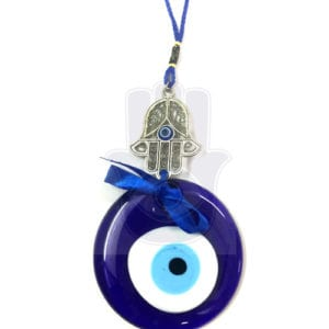 Evil Eye Hanging with Hand of Fatima