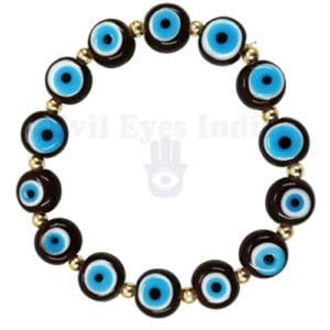 Premium Brown Evil Eyes Bracelet