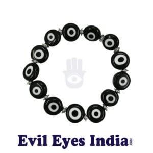 Black Evil Eye Bracelet for Optimism