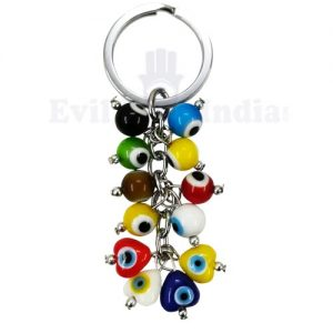 Evil Eyes Cute Bunch Keychain