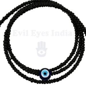 Multi-Stand Evil Eye Bracelet