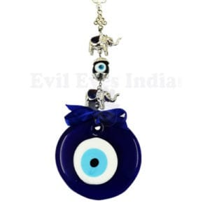 Good Luck elephant and Evil Eye Hanging