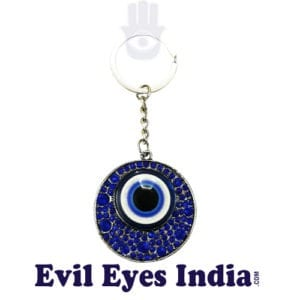 Fancy Evil Eye Keychain