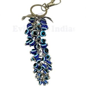 Bunch of Grapes Evil Eye Keychain