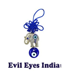 Evil Eye Hanging with Cute Elephant