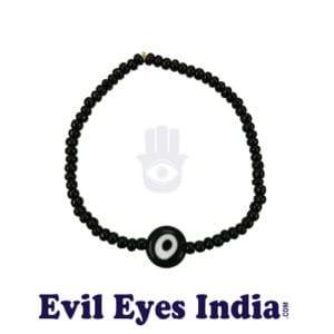Black Evil Eye Bracelet