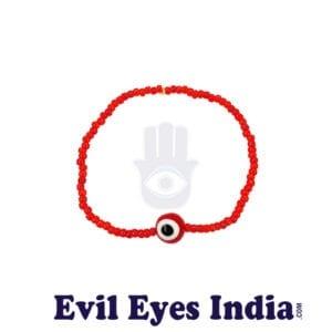 Basic Red Evil Eye Bracelets
