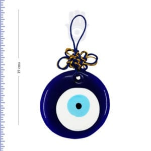 Evil Eye Hanging With Mystic Knot