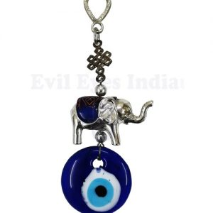 Small Elephant Evil eye Hanging