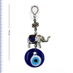 Small Elephant Evil eye Hanging