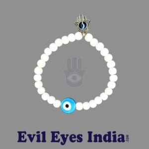 Turquoise Bead Evil Eye with Humsa hand Bracelets