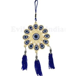 Flower Shape Evil Eye Hanging