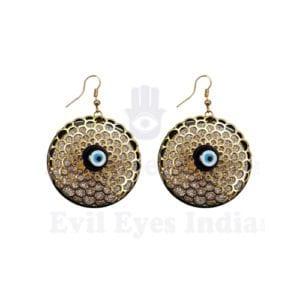 Fancy Evil Eye Earrings