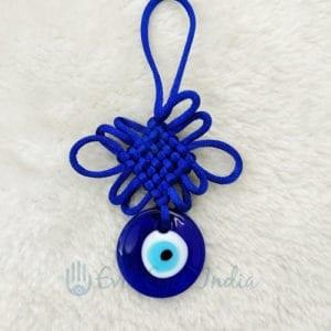 Basic Evil Eye with Mystic Knot Symbol