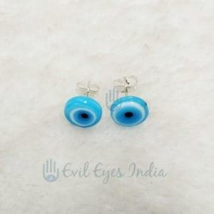 Evil Eye Turquoise Stud Earring