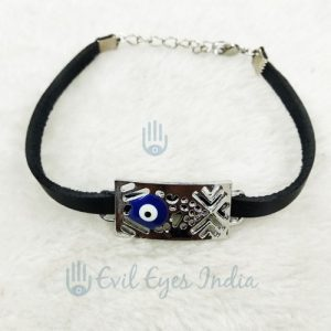 Unisex Evil Eye Bracelet (Black)