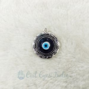 Cute Round Evil Eye Pendant