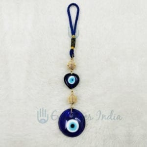 Heart Shape Evil Eye Bead Wall Hanging